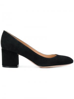 Туфли-лодочки Linda Gianvito Rossi. Цвет: чёрный
