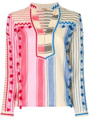 Рубашка Rika Dodo Bar Or. Цвет: телесный