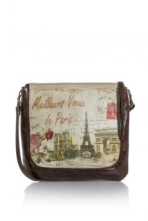 Сумка с визитницей и обложкой для паспорта 177090 Eshemoda