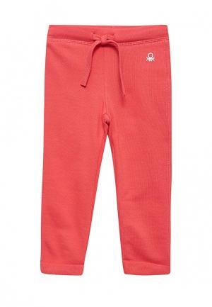 Брюки спортивные United Colors of Benetton. Цвет: розовый