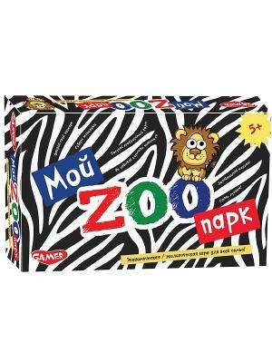 Настольная игра Мой зоопарк DREAM MAKERS. Цвет: белый, черный, синий, красный