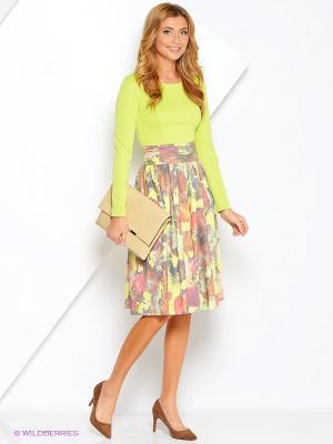 Платье Xarizmas. Цвет: салатовый, бордовый, розовый