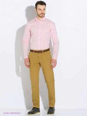 Сорочка Oodji. Цвет: розовый
