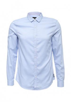 Рубашка Armani Exchange. Цвет: голубой