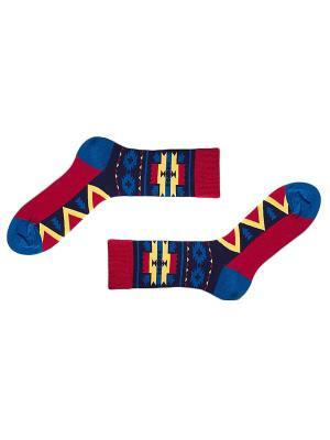 Носки Sammy Icon. Цвет: синий, красный, желтый, черный