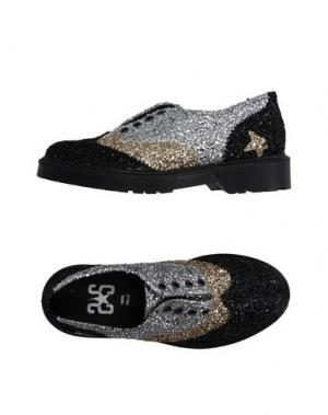 Обувь на шнурках 2STAR. Цвет: черный
