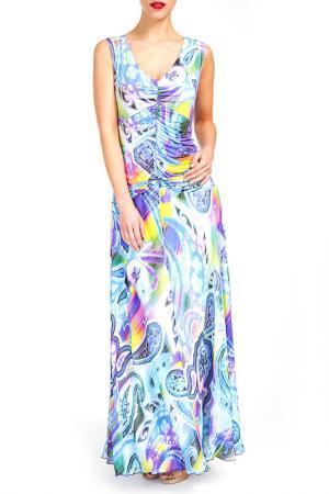 Платье Georgede. Цвет: multicolor