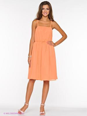 Платье L.A.S. Цвет: оранжевый
