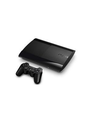 Игровая консоль Sony PlayStation 3 PS719888031 черный +память 12Gb в компл.: 2 игры: Gran Turismo 6,. Цвет: черный
