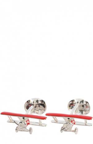 Запонки Deakin&Francis. Цвет: красный