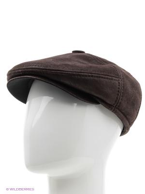 Кепка PILOT HEADWEAR COLLECTION. Цвет: коричневый