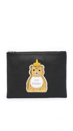 Клатч Hunny с изображением медвежонка Patricia Chang