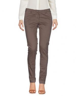 Повседневные брюки VERYSIMPLE. Цвет: хаки