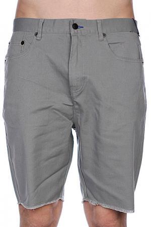 Классические мужские шорты  Lowell Grey Fourstar. Цвет: серый