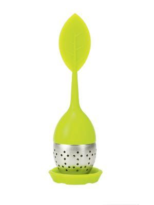 Заварочная ложка для чая Twiggy Contento. Цвет: зеленый