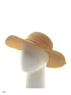 Шляпа Maxval. Цвет: бежевый