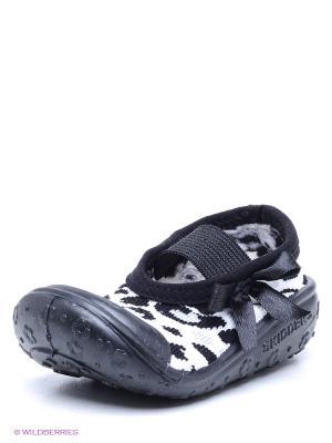 Пинетки SKIDDERS. Цвет: черный, белый