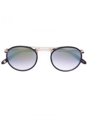 Солнцезащитные очки Cordova Garrett Leight. Цвет: чёрный