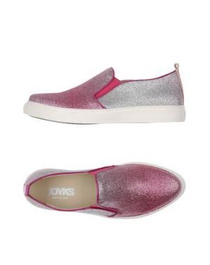 Низкие кеды и кроссовки JOYKS. Цвет: светло-фиолетовый