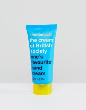 Anatomicals Крем для рук с белым чаем Cream of British Society 100. Цвет: бесцветный