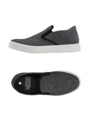 Низкие кеды и кроссовки HŌSIO. Цвет: черный