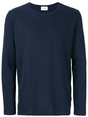 Рубашка с абстрактным принтом Dondup. Цвет: синий