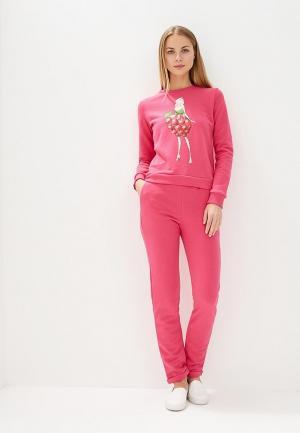 Костюм спортивный Fashion.Love.Story. Цвет: розовый