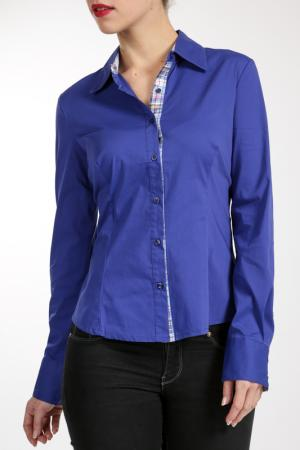 Блузка Charlotte B.. Цвет: синий