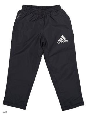 Трикотажные брюки дет. спорт. YB PAD PANT Adidas. Цвет: черный