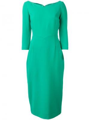 Платье Drew Goat. Цвет: зелёный