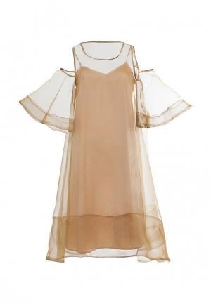 Платье Lucky Move. Цвет: золотой