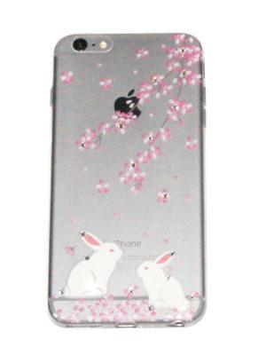 Чехол для iPhone 6 plus Lola. Цвет: прозрачный, розовый, белый