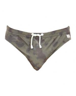 Плавки LIU •JO MAN. Цвет: зеленый-милитари
