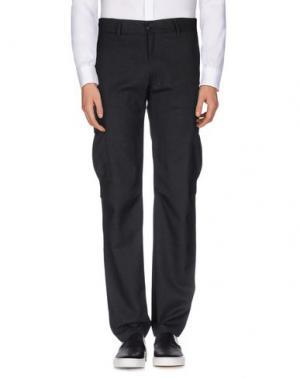 Повседневные брюки U CLOTHING. Цвет: стальной серый