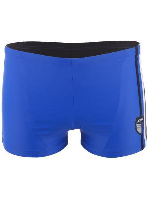Плавки JOSS. Цвет: голубой, черный