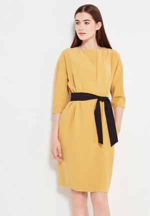 Платье Peperuna. Цвет: желтый