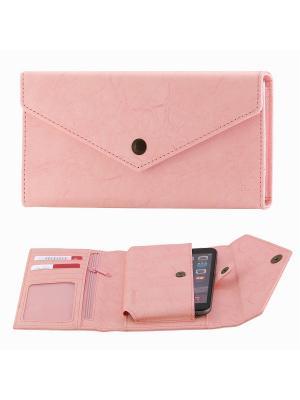 Чехол-портмоне Hoco HS5 Multi - functional Pink. Цвет: розовый