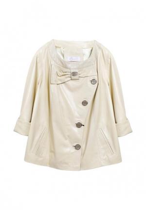 Куртка Albertini Collezione. Цвет: желтый