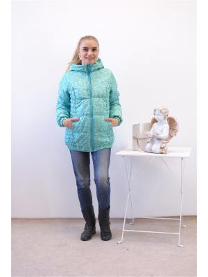 Куртка Адель. Цвет: светло-зеленый
