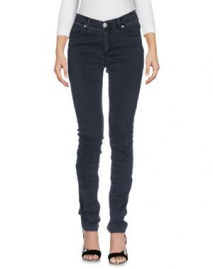 Джинсовые брюки BLUE LUXURY. Цвет: черный