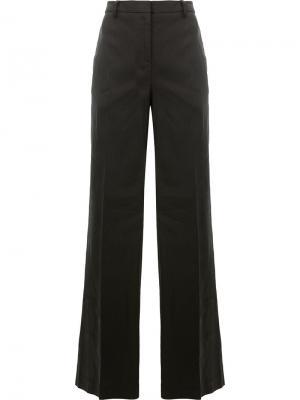 Широкие брюки Ilaria Nistri. Цвет: чёрный