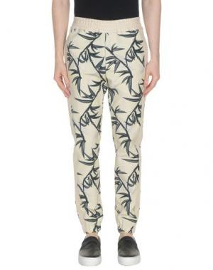 Повседневные брюки MARC JACOBS. Цвет: песочный
