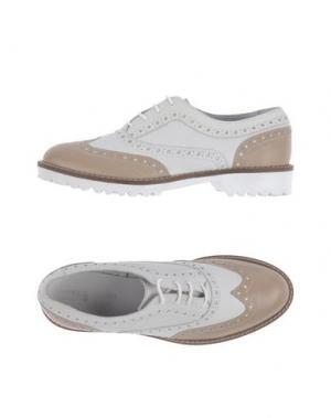 Обувь на шнурках ANTICA CUOIERIA. Цвет: бежевый