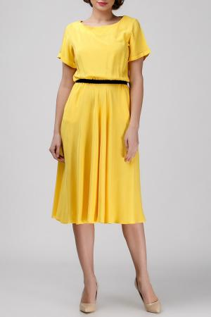 Платье Adelin Fostayn. Цвет: желтый