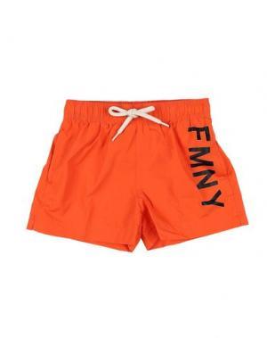 Шорты для плавания FRED MELLO. Цвет: оранжевый