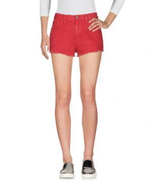 Джинсовые шорты DENIM & SUPPLY RALPH LAUREN. Цвет: красный