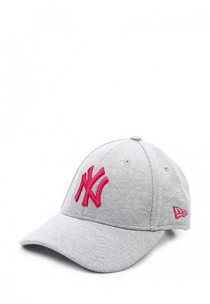 Бейсболка New Era. Цвет: серый