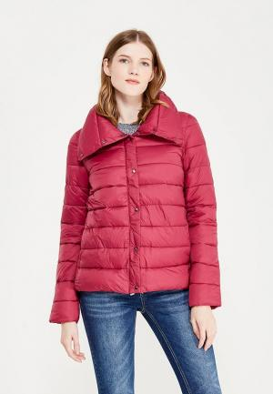 Куртка утепленная oodji. Цвет: розовый