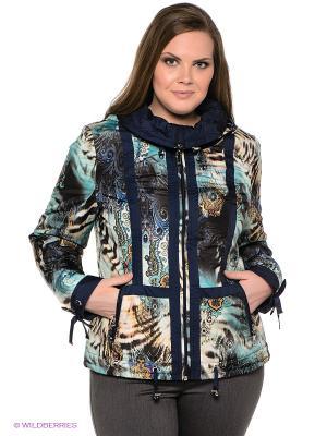 Куртка VIZANI. Цвет: синий, голубой, черный