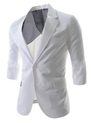 Пиджак VipDressCode. Цвет: белый